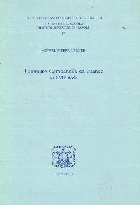 Tommaso Campanella en France au 17. siècle