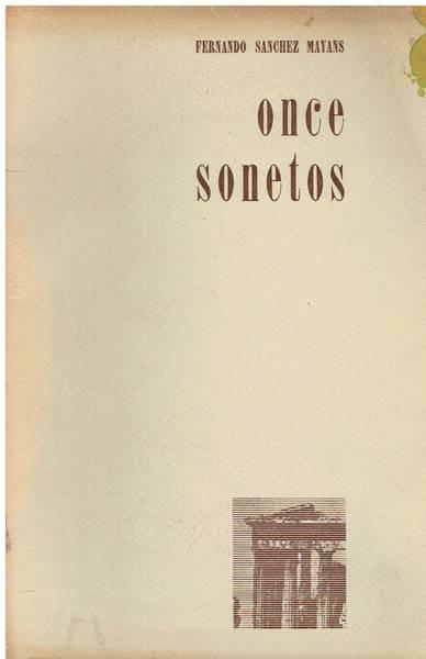 Once sonetos