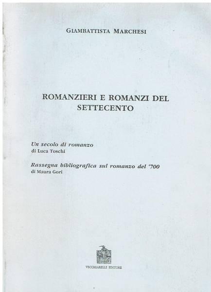 Romanzieri e romanzi del Settecento