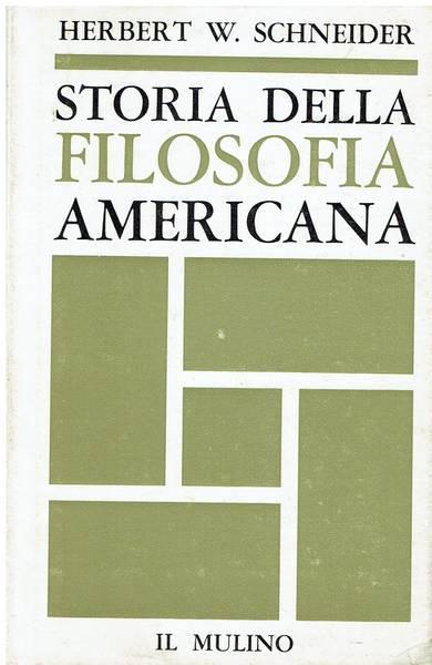 Storia della filosofia americana
