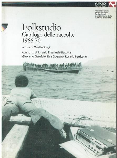 Folkstudio : catalogo delle raccolte 1966-70