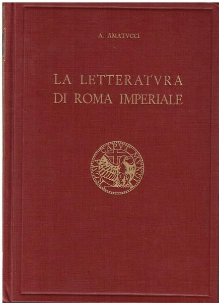 La letteratura di Roma imperiale