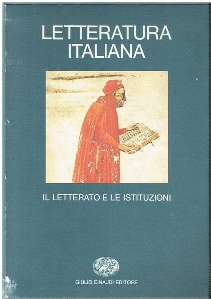 Letteratura italiana. 18 volumi