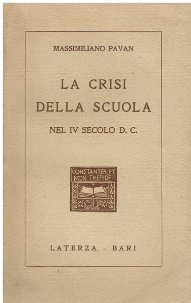 La crisi della scuola nel 4. secolo d. C.