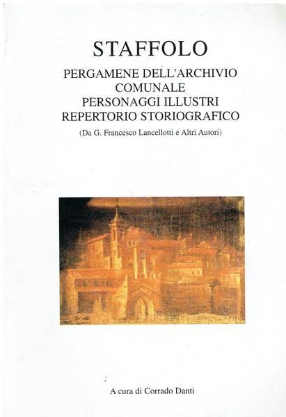 Staffolo : pergamene dell'archivio comunale