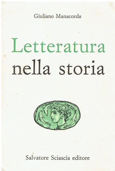 Letteratura nella storia v. 1