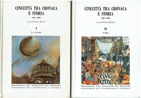 Cinecittà tra cronaca e storia : 1937-1989