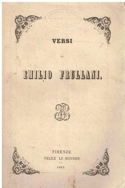 Versi di Emilio Frullani