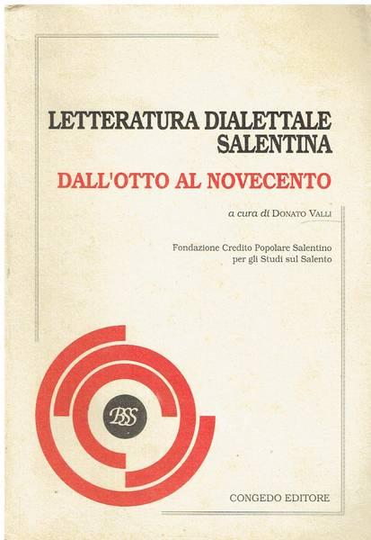 Letteratura dialettale salentina - Dall'Otto al Novecento
