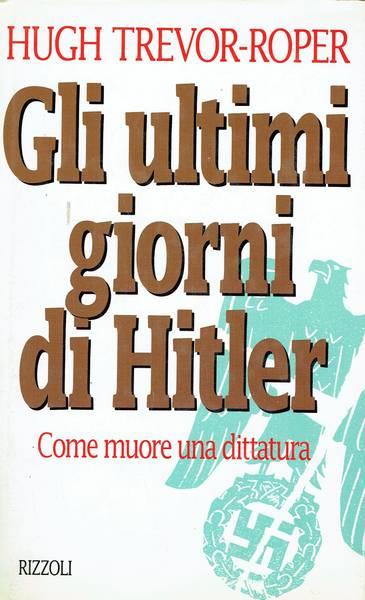 Gli ultimi giorni di Hitler