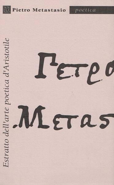 Estratto dell'arte poetica d'Aristotile