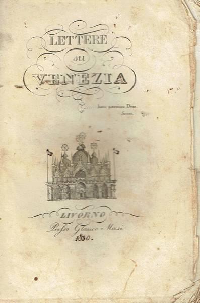Lettere su Venezia