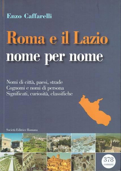 Roma e il Lazio nome per nome : nomi di città