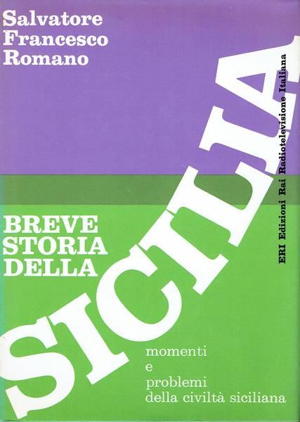 Breve storia della Sicilia : momenti e problemi della civiltà siciliana