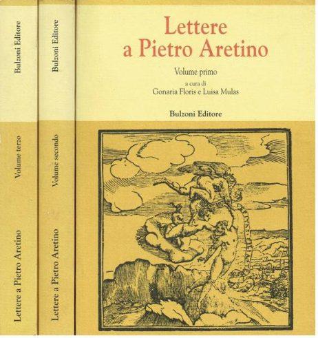 Lettere a Pietro Aretino. 3 volumi