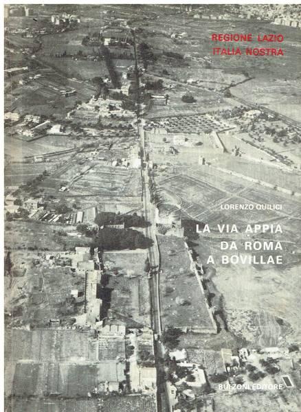 La via Appia da Roma a Bovillae
