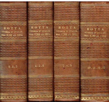 Storia d'Italia dal 1789 al 1814