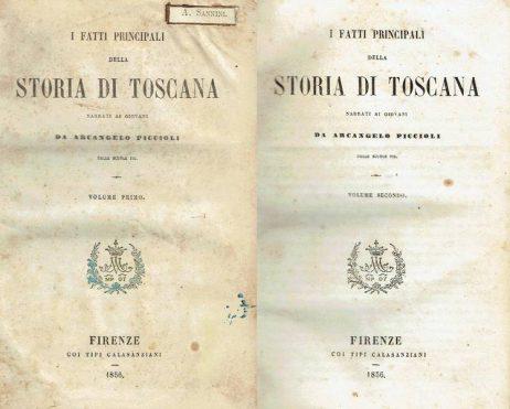 I fatti principali della storia di Toscana narrati ai giovani