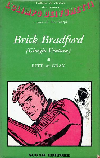 """Brick Bradford (Giorgio Ventura) in """"La fortezza di Alamut"""""""