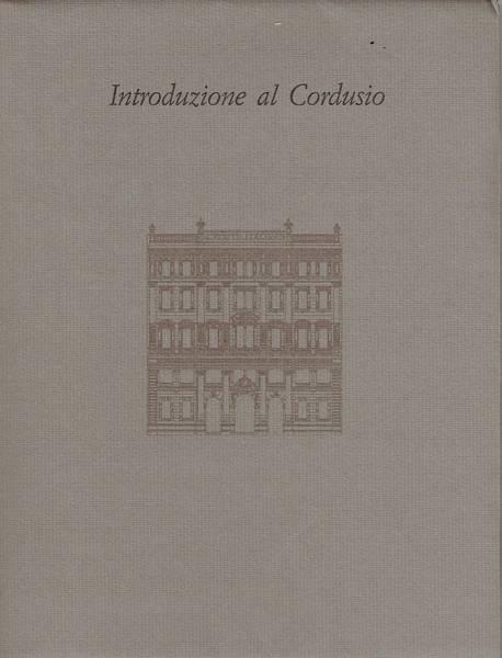 Introduzione al Cordusio