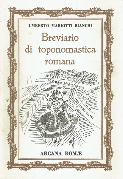 Breviario di toponomastica romana