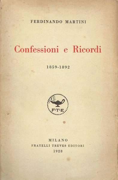 Confessioni e ricordi
