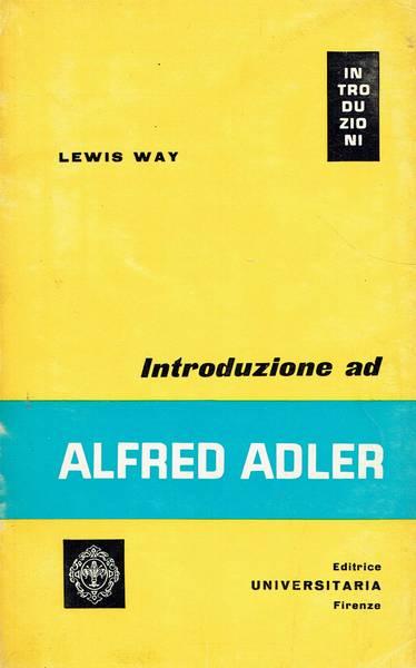 Introduzione ad Alfred Adler