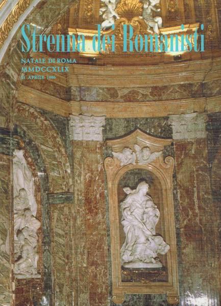 Strenna dei romanisti : Natale di Roma 1996 ab U. . MMDCCXLIX
