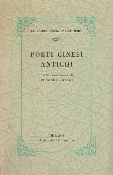 Poeti cinesi antichi