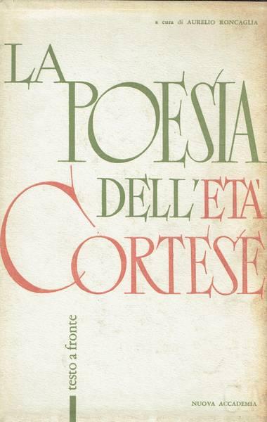 Poesia dell'età cortese