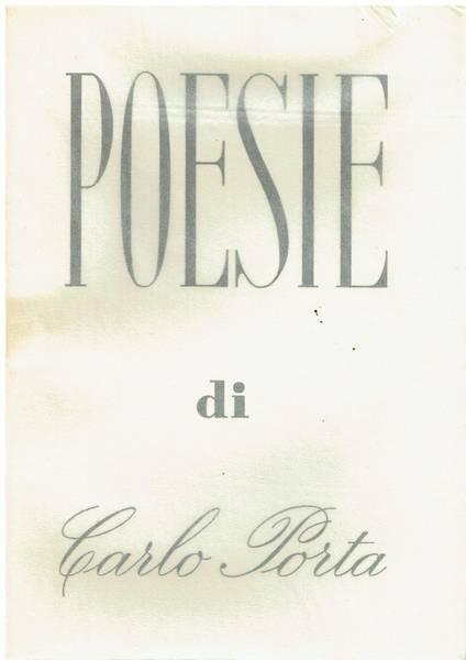 Le poesie di Carlo Porta