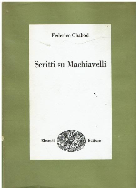 Scritti su Machiavelli
