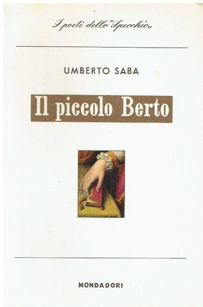 Il piccolo Berto : 1923-1931