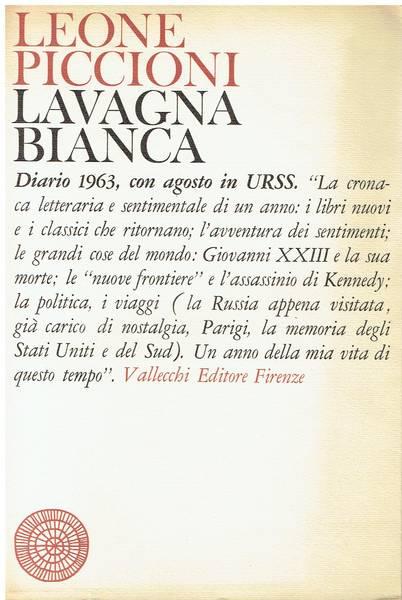 Lavagna bianca : diario 1963
