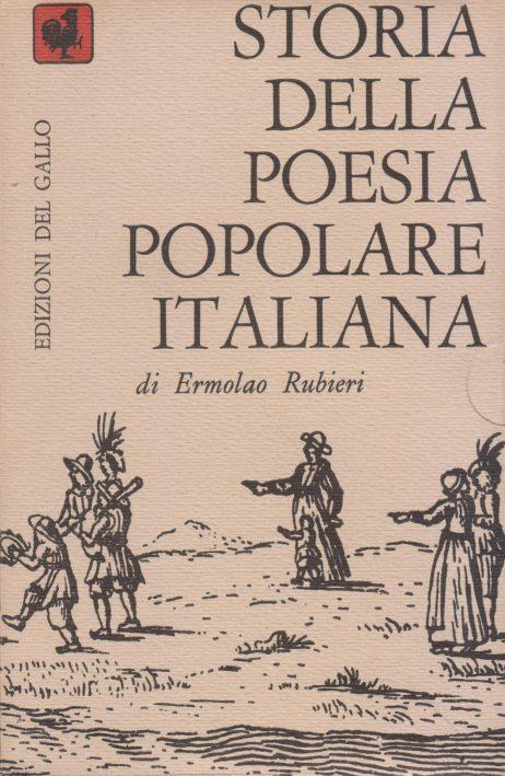 Storia della poesia popolare italiana