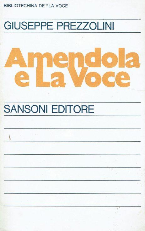 Amendola e La voce