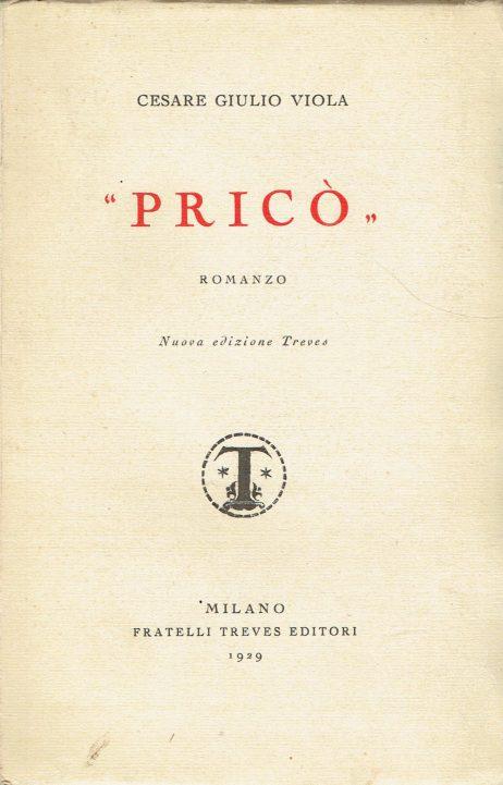 Pricò : romanzo