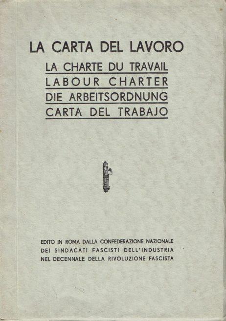 Carta del lavoro