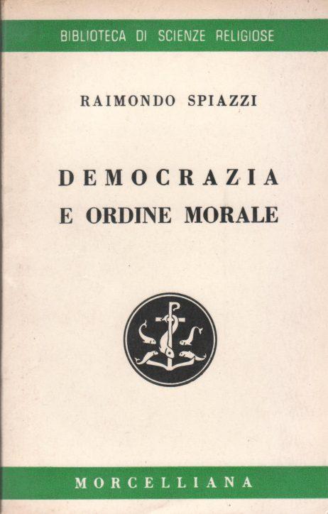 Democrazia e ordine morale