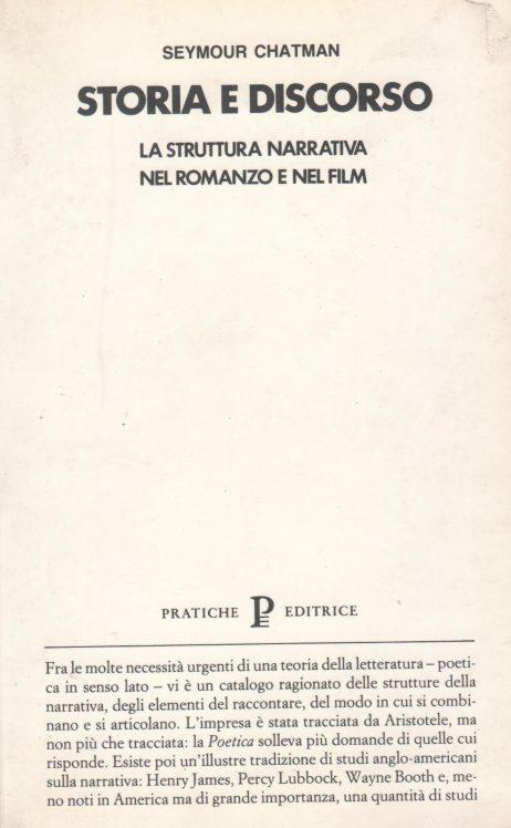 Storia e discorso: la struttura narrativa nel romanzo e nel film