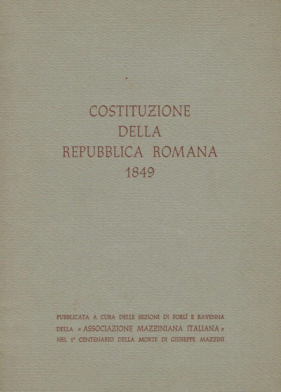 Costituzione della Repubblica romana